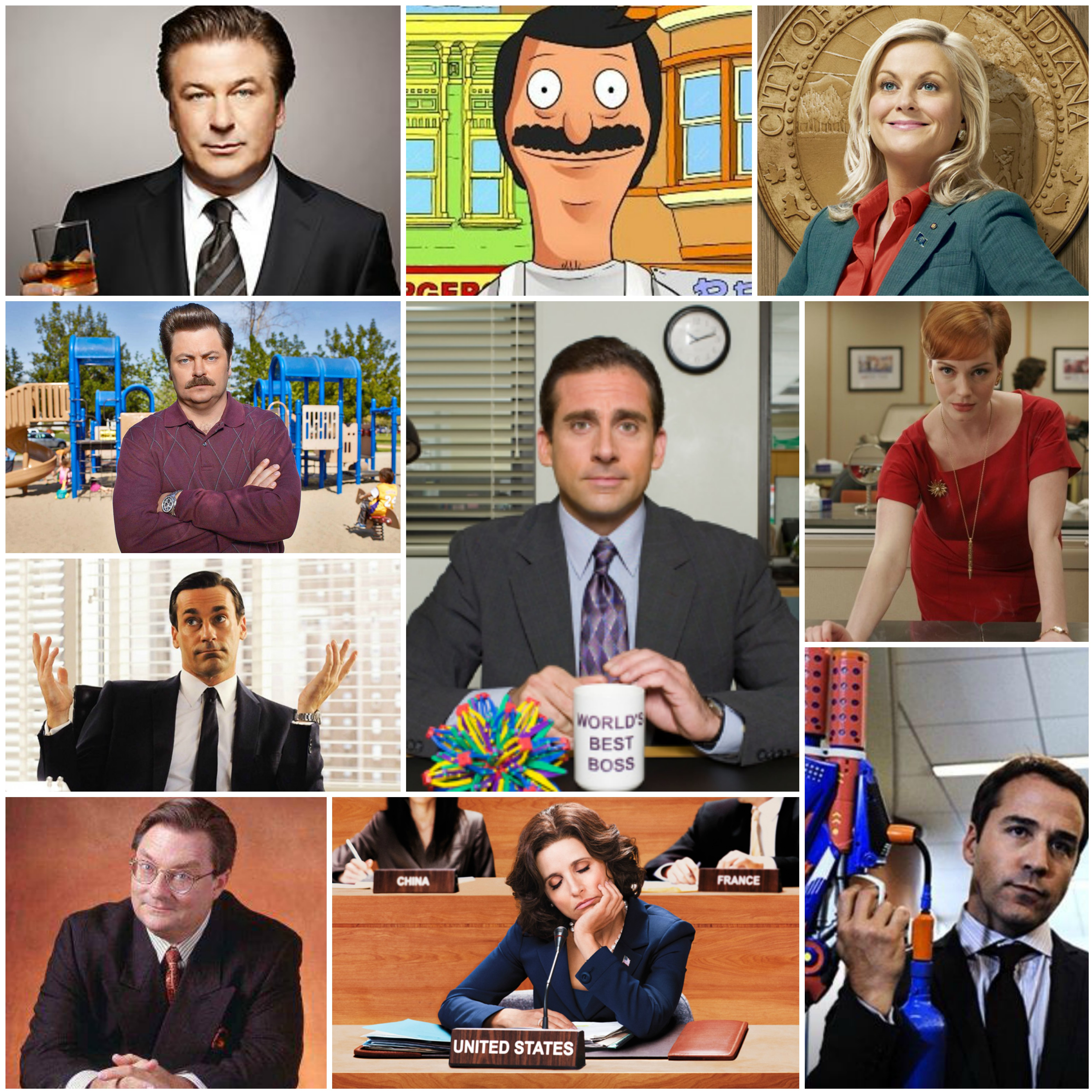 10 Quotes from Television's Most Iconic Bosses