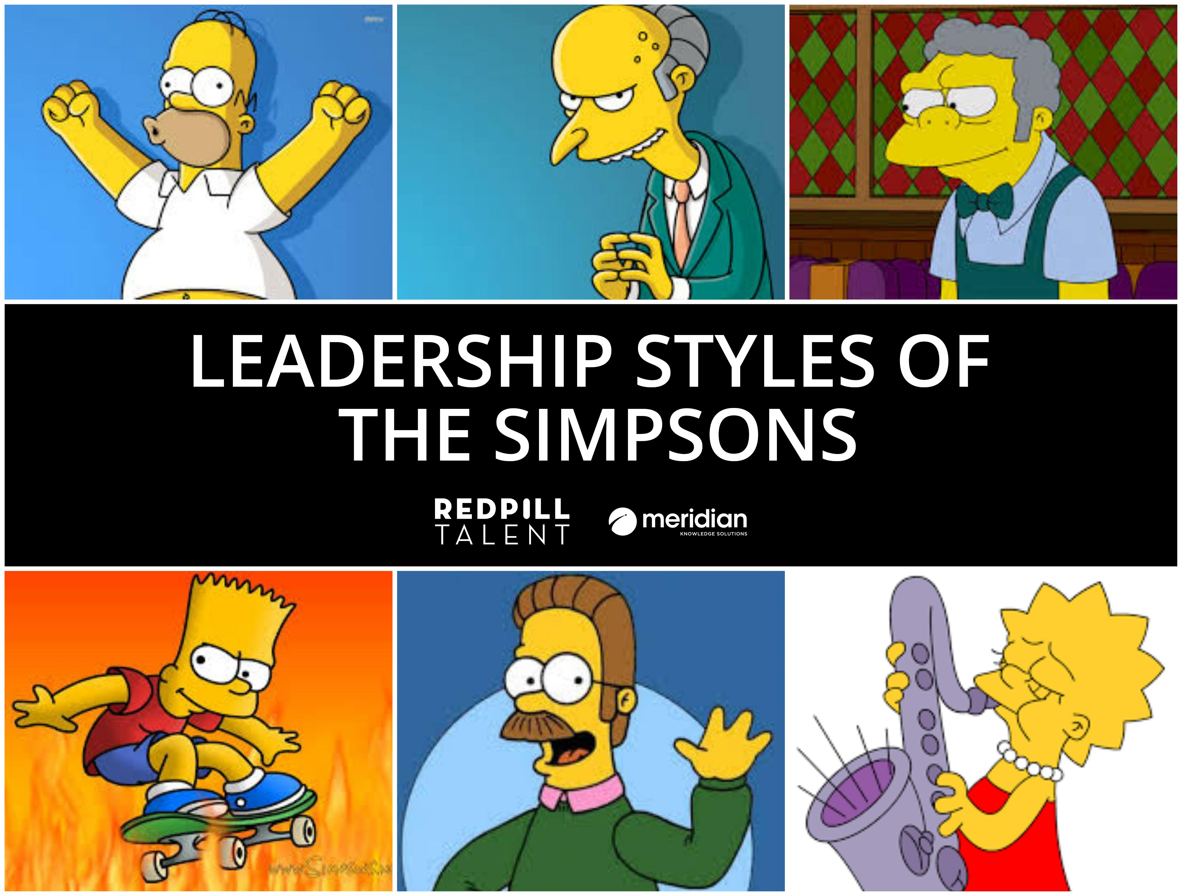The Leadership Styles of The Simpsons