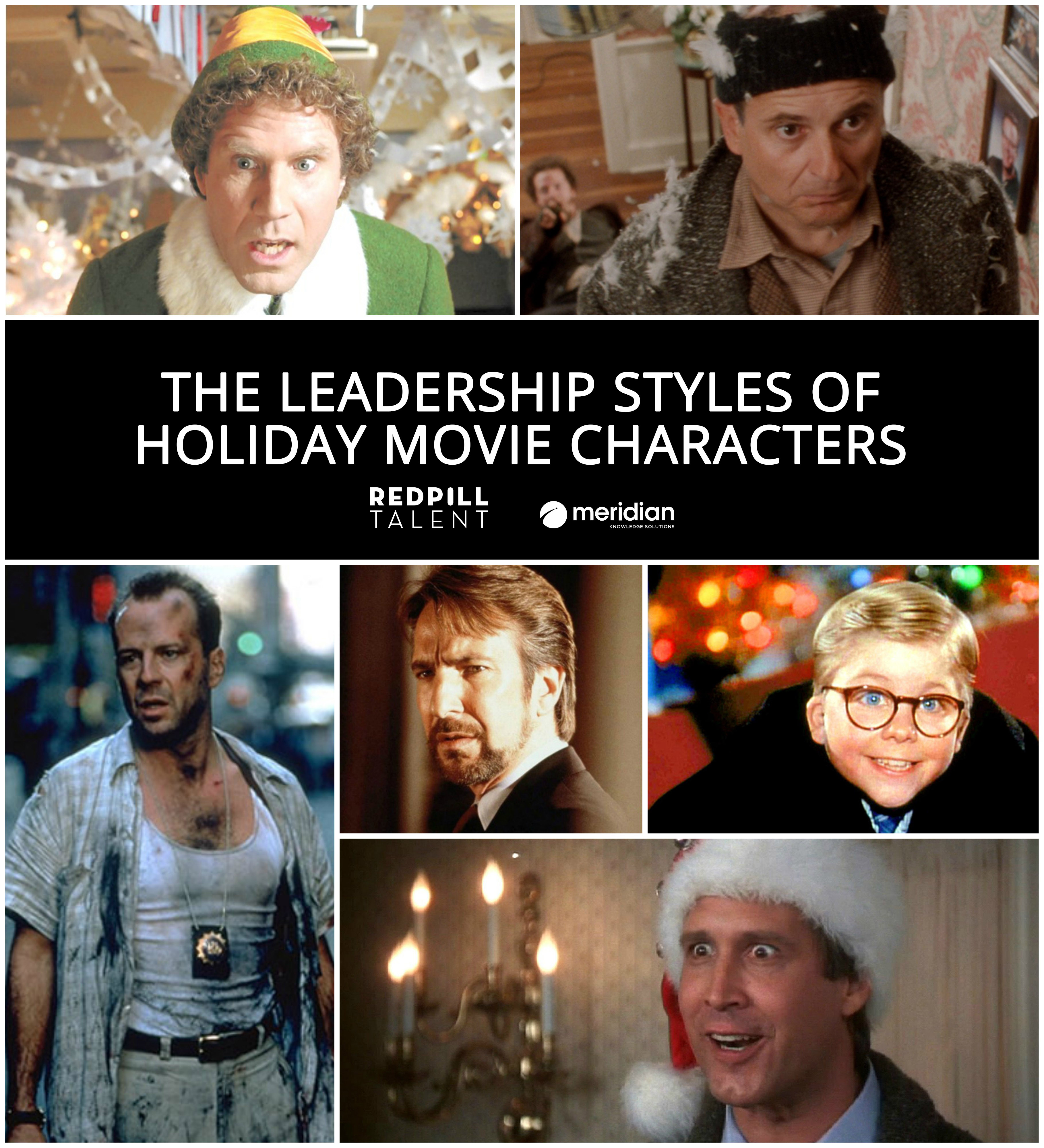 The Leadership Styles of Holiday Movie Characters