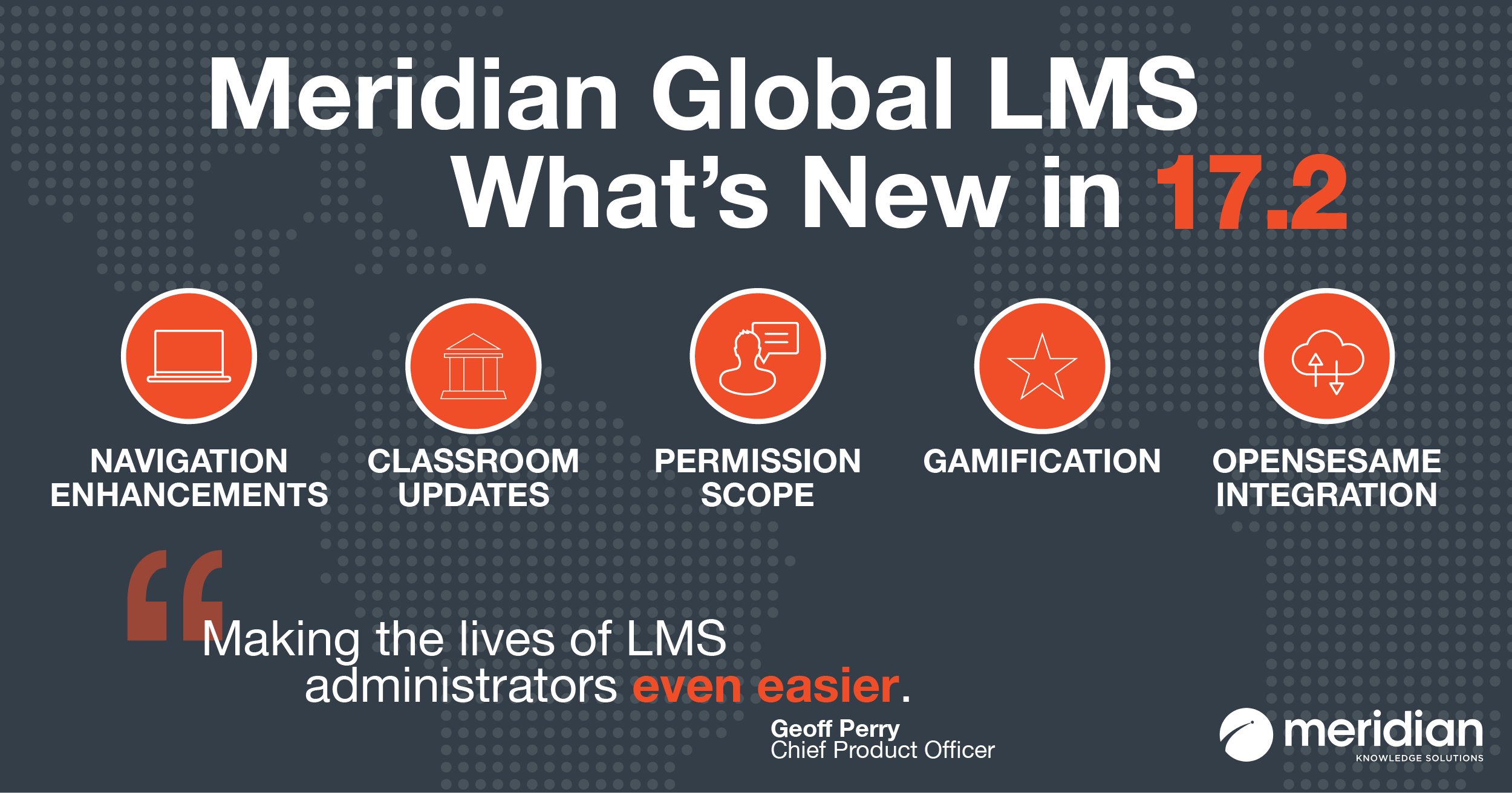 What's New in Meridian Global LMS 17.2
