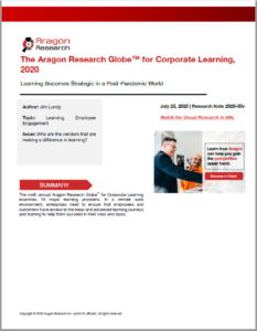 2020 Aragon Research Corporate Learning