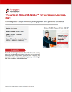 Aragon Corporate Learning Report 2021